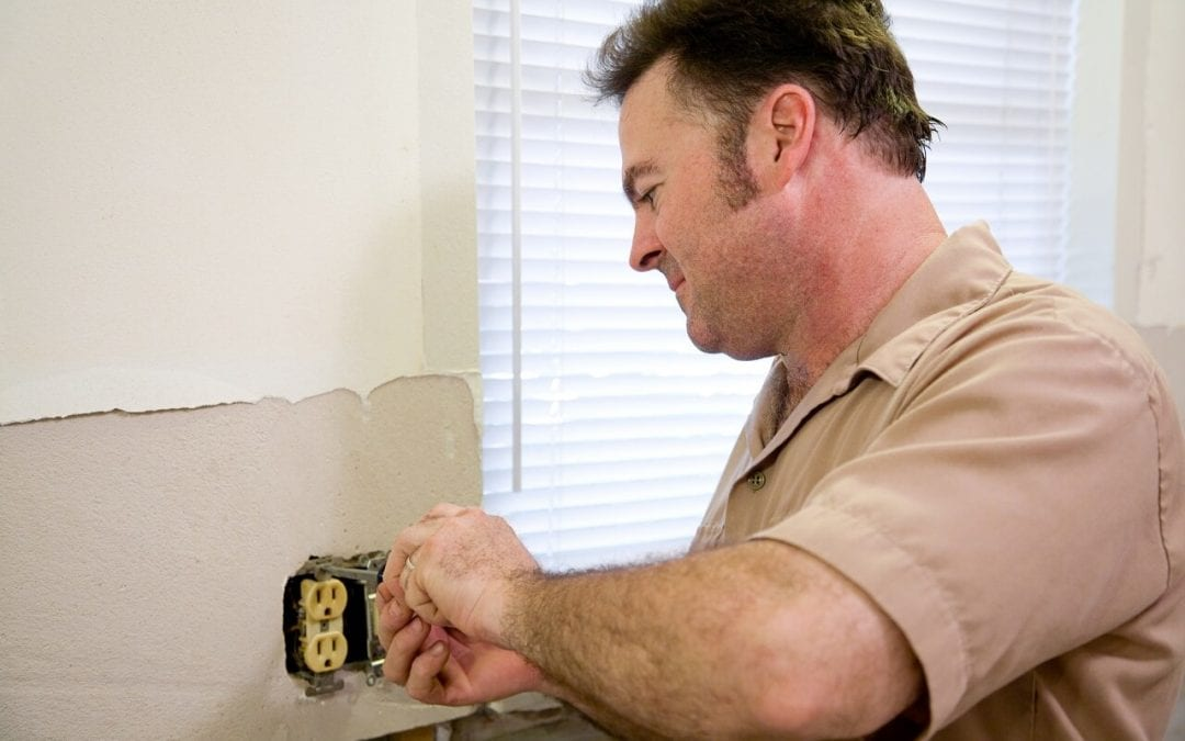 electrical problem in the home should be repaired by a qualified professional